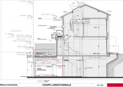 _COUPE_longitudinale Projet